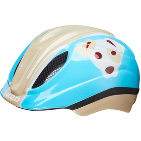 KED Meggy Trend Bike Helmet Children beige/blue